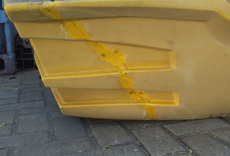 Plastic Welding on a Canopy